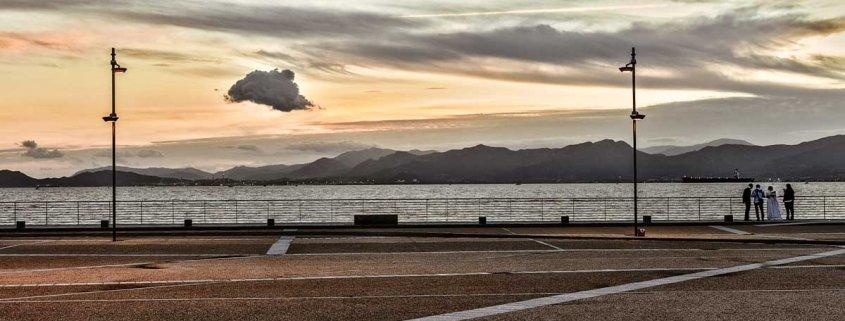Lungomare del Lazzaretto di Cagliari, ottobre 2015 - Foto di Luca Tamagnini