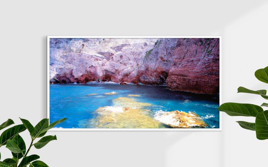 Cinque Terre CampigliaLe Le Rosse, 2007 - Fotografia Fine Art - Formato stampa 150x80cm / Luca Tamagnini Catalogo 2007-001