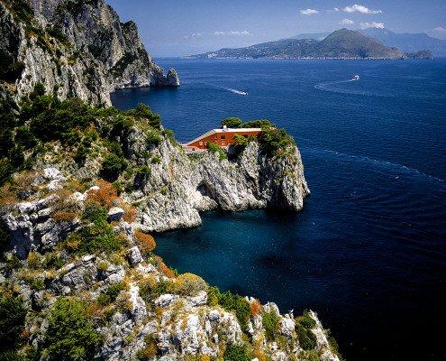 Capri, Villa Malaparte - Foto di Luca Tamagnini