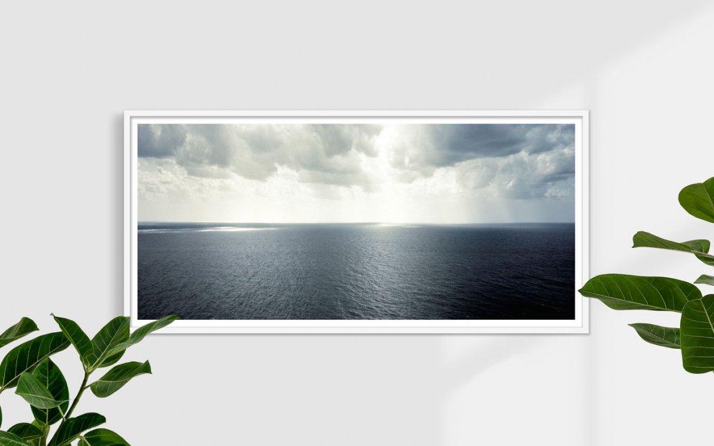 Mare e cielo di Capri, 2008 - Fotografia Fine Art - Formato stampa 150x70cm / Luca Tamagnini Catalogo 2008-002