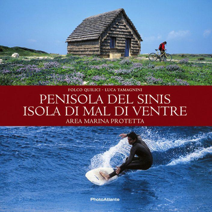 Libro fotografico PENISOLA DEL SINIS di Folco Quilici - Luca Tamagnini / Photoatlante