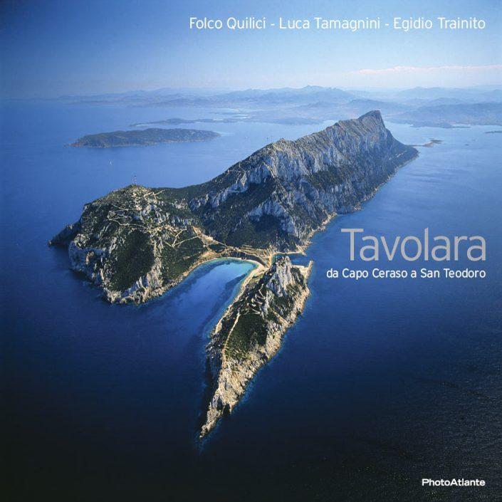 Libro fotografico TAVOLARA di Folco Quilici - Luca Tamagnini - Egidio Trainito / Photoatlante