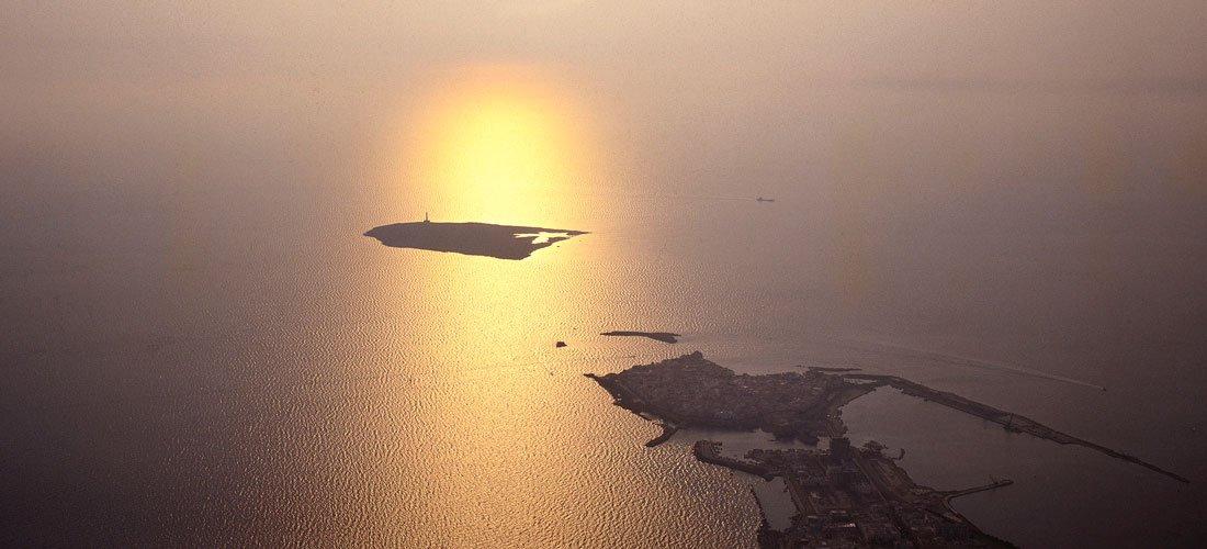 Gallipoli e l'Isola di Sant'Andrea, 1990 - © Luca Tamagnini