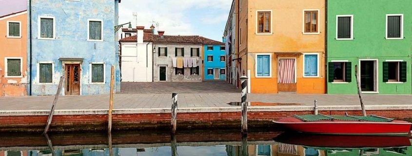 Paesaggi italiani - Laguna Veneta, Isola di Burano, 2018 - Foto di Luca Tamagnini (AUTORIZZAZIONE OBBLIGATORIA PER TUTTI GLI UTILIZZI. RIVOLGERSI A PHOTOATLANTE SRL)