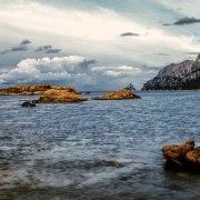 Isola di Tavolara da Punta Corallina / Catalogo Luca Tamagnini Foto Mare Sardegna