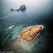 Sardegna, Scogli Corona Niedda dal cielo (foto aerea) / Luca Tamagnini Catalogo 1992-014