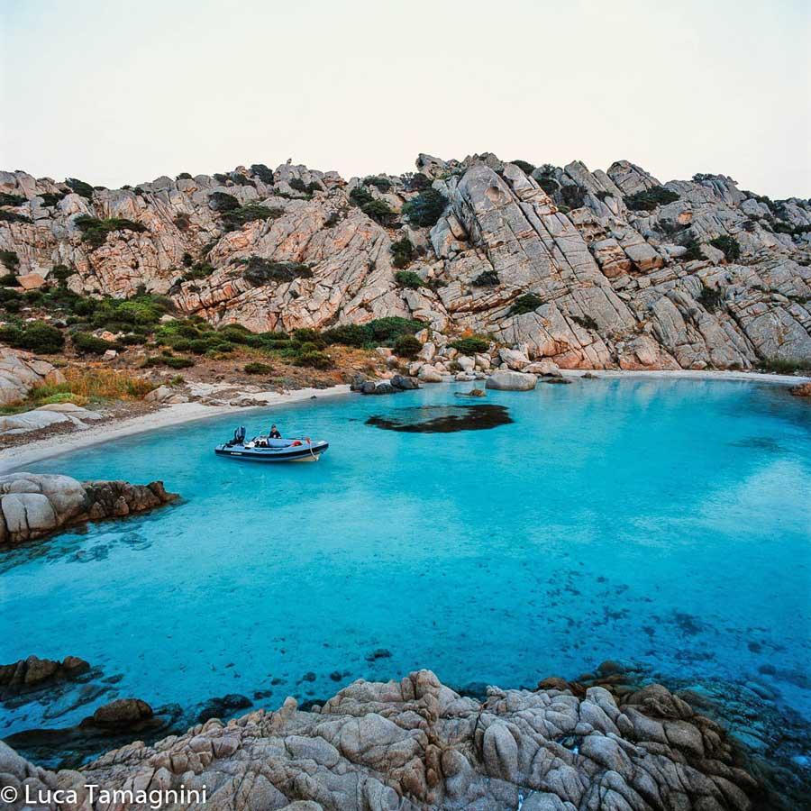 La Maddalena, l'arcipelago della Sardegna del nord: Isola di Caprera, Cala Napoletana. Foto di Luca Tamagnini