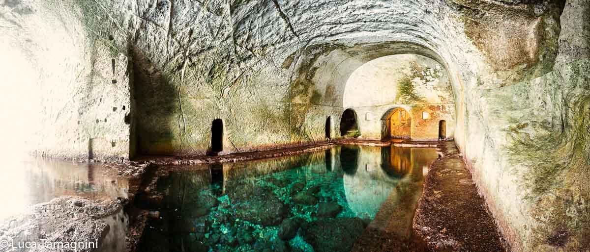 Ponza, Grotte di Pilato, antica peschiera romana, 2018 - Fotografia di Luca Tamagnini