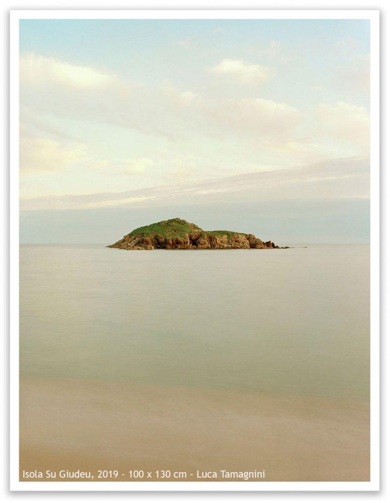 Sardegna, Chia, Isola Su Giudeu, 2019 - 100 x 130 cm - Luca Tamagnini