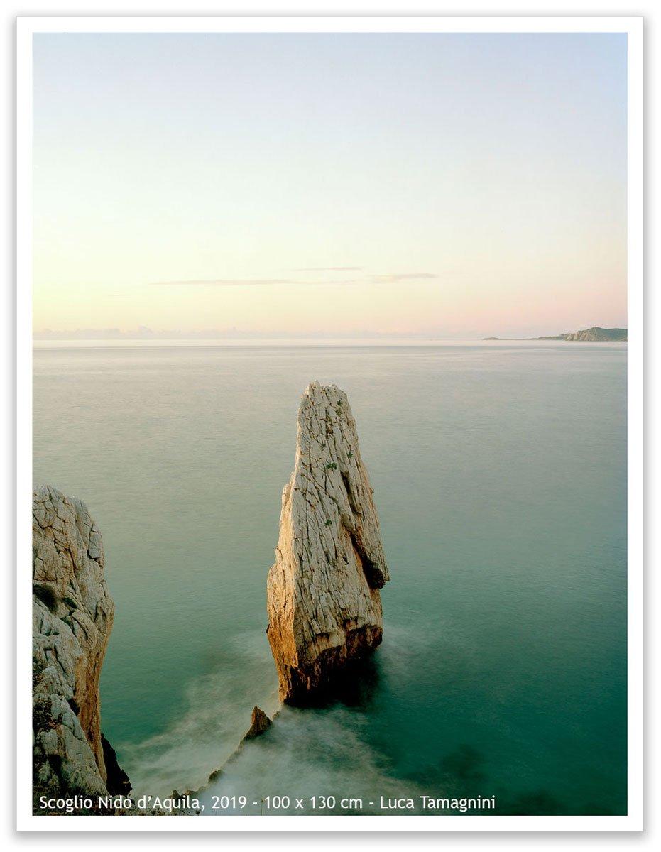 Sardegna, Bugerru, Scoglio Nido d'Aquila, 2019 - 100 x 130 cm - Luca Tamagnini