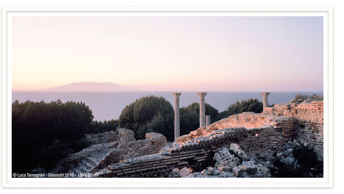 Villa Romana di Giannutri 2015 - 150x80cm - Fotografia fine art di Luca Tamagnini