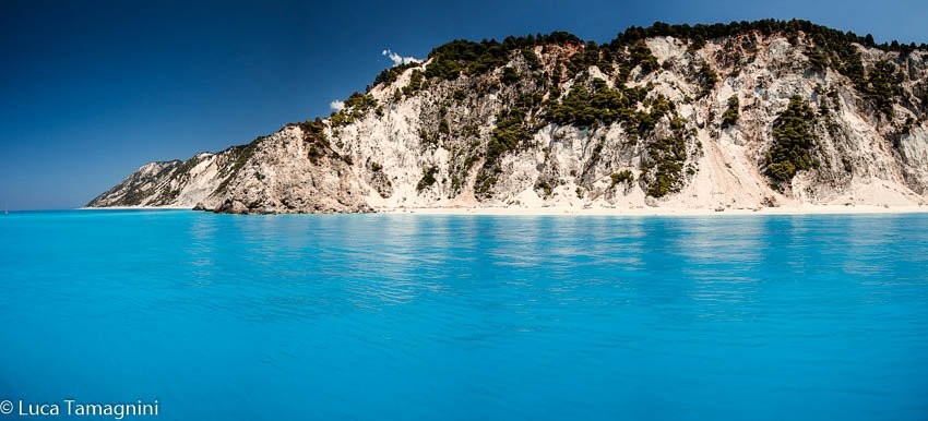 Rupe di Leucade, Leukas, Isole Ioniche, Grecia. Foto fine art 110x50cm di Luca Tamagnini