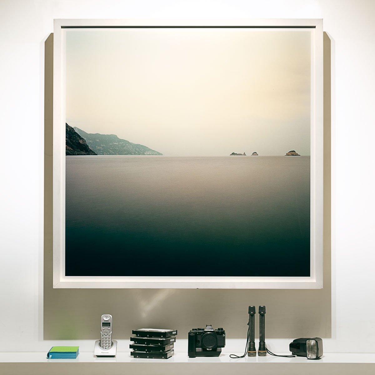 Costiera Amalfitana Isolotti Vetara E Li-Galli / Formato 100 x 100 cm / Luca Tamagnini Catalogo 2017-002
