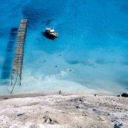 Isole Eolie, Isola di Lipari Cava di Pomice sul mare