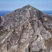 Customaci Monte Cofano dal cielo sullo sfondo San Vito Lo Capo