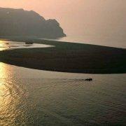 Foto Mare Sicilia. Laghetti di Marinello dal cielo