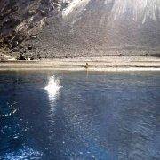 Foto Mare Sicilia. Isola di Stromboli, spiaggia della Sciara di Fuoco