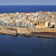 Gallipoli il centro storico isola dal cielo