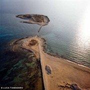 Foto Mare Sicilia. Portopalo Isola delle Correnti dal cielo