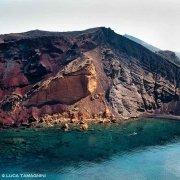 Isola di Linosa Cala Pozzolana dal cielo