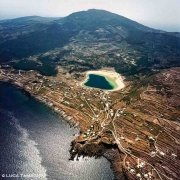 Isola di Pantelleria Lago di Venere dal cielo