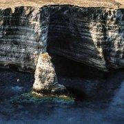 Isola di Lampedusa Scoglio del Sacramento dal cielo