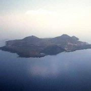 Foto Mare Sicilia. Isola di Linosa dal cielo