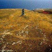 Salento adriatico Otranto Torre della Serpe dal cielo