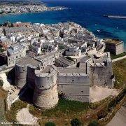 Salento Otranto e il suo castello dal cielo