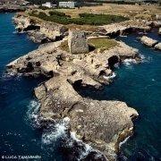 Torre di Roca Vecchia dal cielo