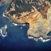 Sardegna, Marina di Bosa Cala e Moro dal cielo (foto aerea) / Luca Tamagnini Catalogo 1992-008