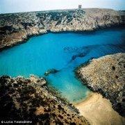 Sardegna, Bugerru Cala Domestica dal Cielo (foto aerea) / Luca Tamagnini Catalogo 1992-015