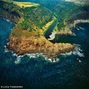 Sardegna, Tresnuraghes Punta Foghe dal cielo (foto aerea) / Luca Tamagnini Catalogo 1992-026