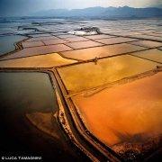 Cagliari Saline di Santa Gilla dal cielo (foto aerea) / Luca Tamagnini Catalogo 1992-027