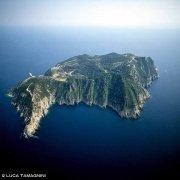 Gorgona dal cielo (foto aerea)