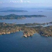 Isola di Razzoli dal cielo / Luca Tamagnini Catalogo 1992-039