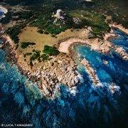 Sardegna, Torre Vignola dal cielo / Luca Tamagnini Catalogo 1992-044