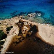 Sardegna, Vignola Foce e spiaggia dal cielo / Luca Tamagnini Catalogo 1992-045