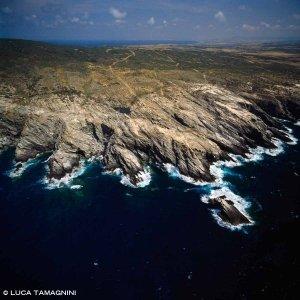 Sardegna, Costa della Nurra nei pressi di Torre Falcone dal cielo / Luca Tamagnini Catalogo 1992-052