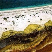 Sardegna, Penisola del Sinis Spiaggia di Mari Ermi dal cielo (foto aerea) / Luca Tamagnini Catalogo 1992-062