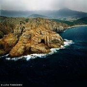 Sardegna, Capo Pecora dal cielo (foto aerea) / Luca Tamagnini Catalogo 1992-066