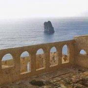 Sardegna, Nebida Laveria Lamarmora sullo sfondo il mare lo Scoglio Il Morto e gli Scogli L'Austeri / Luca Tamagnini Catalogo 1992-067