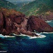 Sardegna, Nebida Portu Ferru dal cielo (foto aerea) / Luca Tamagnini Catalogo 1992-071