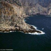 Sardegna, Isola di San Pietro Capo Sandalo dal cielo (foto aerea) / Luca Tamagnini Catalogo 1992-072