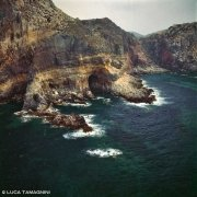Sardegna, Isola di San Pietro Punta di Cala Fico dal cielo (foto aerea) / Luca Tamagnini Catalogo 1992-074