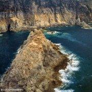 Sardegna, Isola di San Pietro Isola di Stea dal cielo (foto aerea) / Luca Tamagnini Catalogo 1992-075