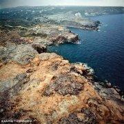 Sardegna, Isola di San Pietro Cala Lunga dal cielo (foto aerea) / Luca Tamagnini Catalogo 1992-077