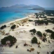 Sardegna, dune di Porto Zafferano dal Cielo (foto aerea) / Luca Tamagnini Catalogo 1992-078
