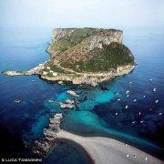Praia a Mare Isola di Dino dal cielo