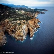 Sardegna, Capo Spartivento dal cielo (foto aerea) / Luca Tamagnini Catalogo 1993-025